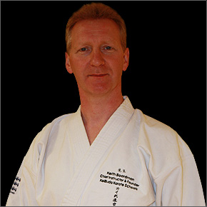 Sensei Keith Boardman